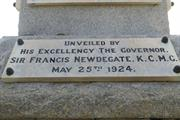 Leederville War Memorial Plaque