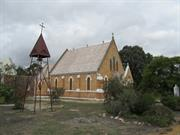 church north east elevation