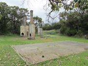 Warrant Officer's House ruins