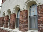 windows at south east corner