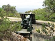 Fortified gun emplacement