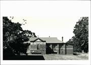 Rear elevation of classroom block