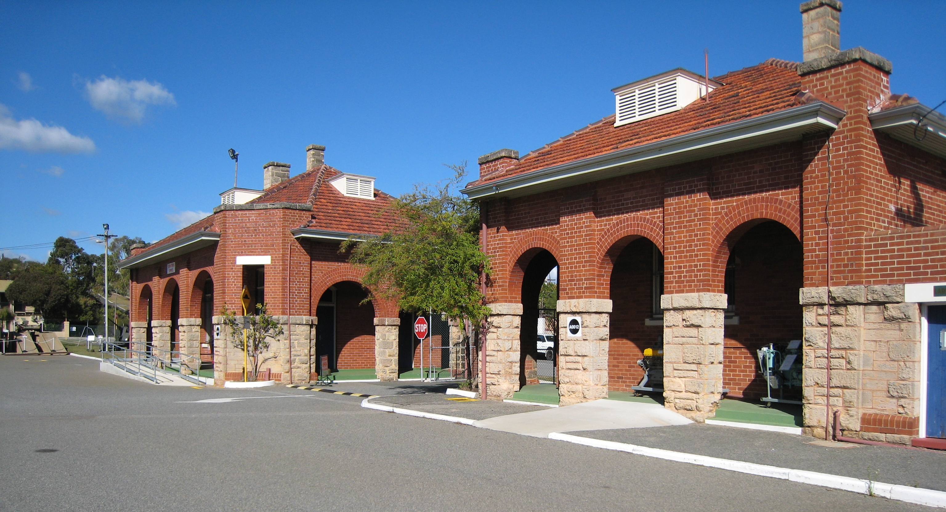 Barracks buildings