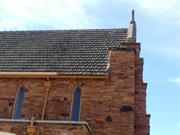 Guttering missing to south eastern roofscape