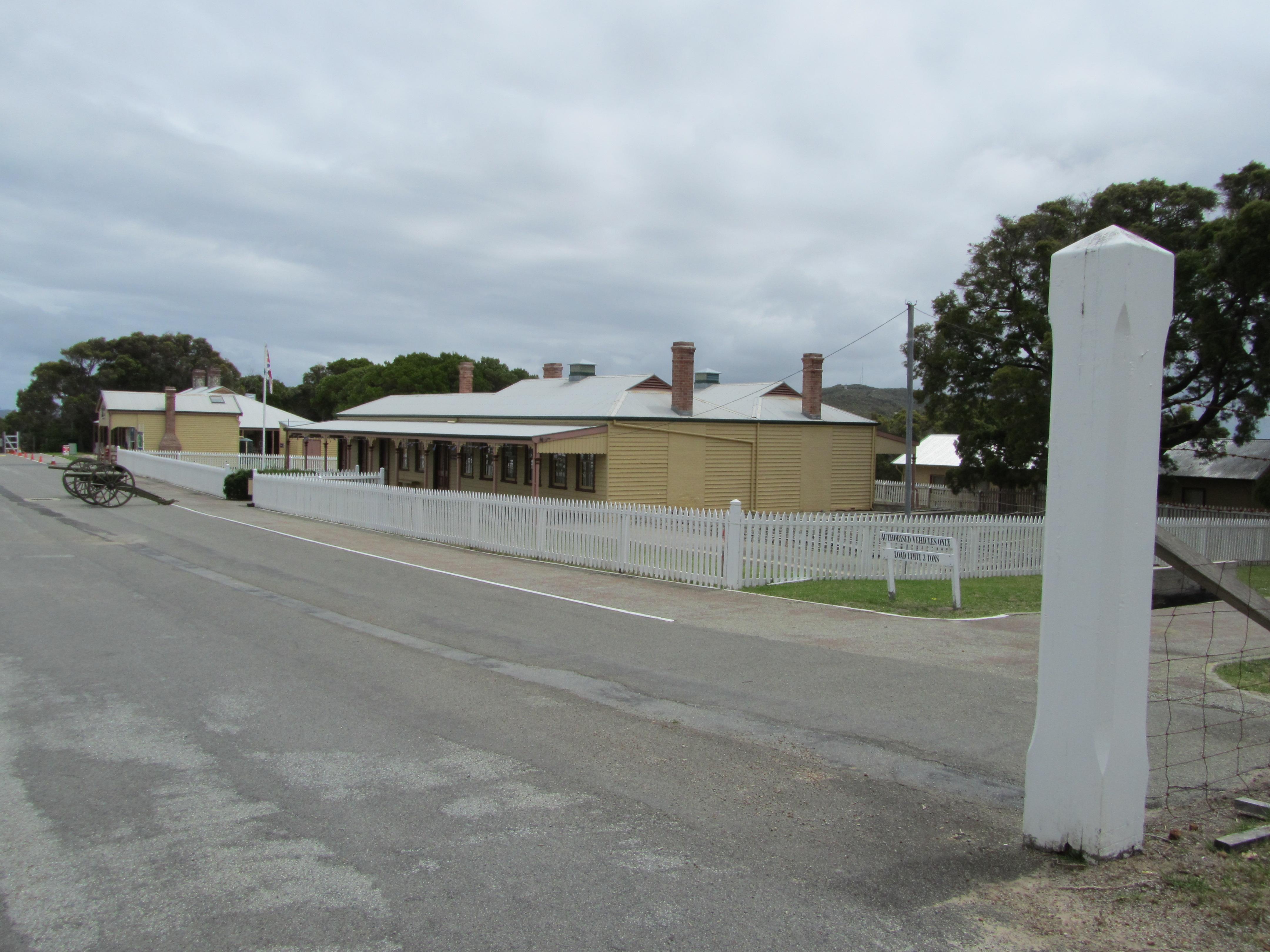 Guard House, Garrison Barracks and parade ground REP