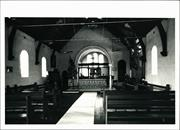 Interior view of church facing chancel