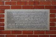 St Vincents's Foundlings Home Foundation Stone