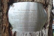 Happy Tree Plaque