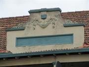 decorative parapet detail from Albion St