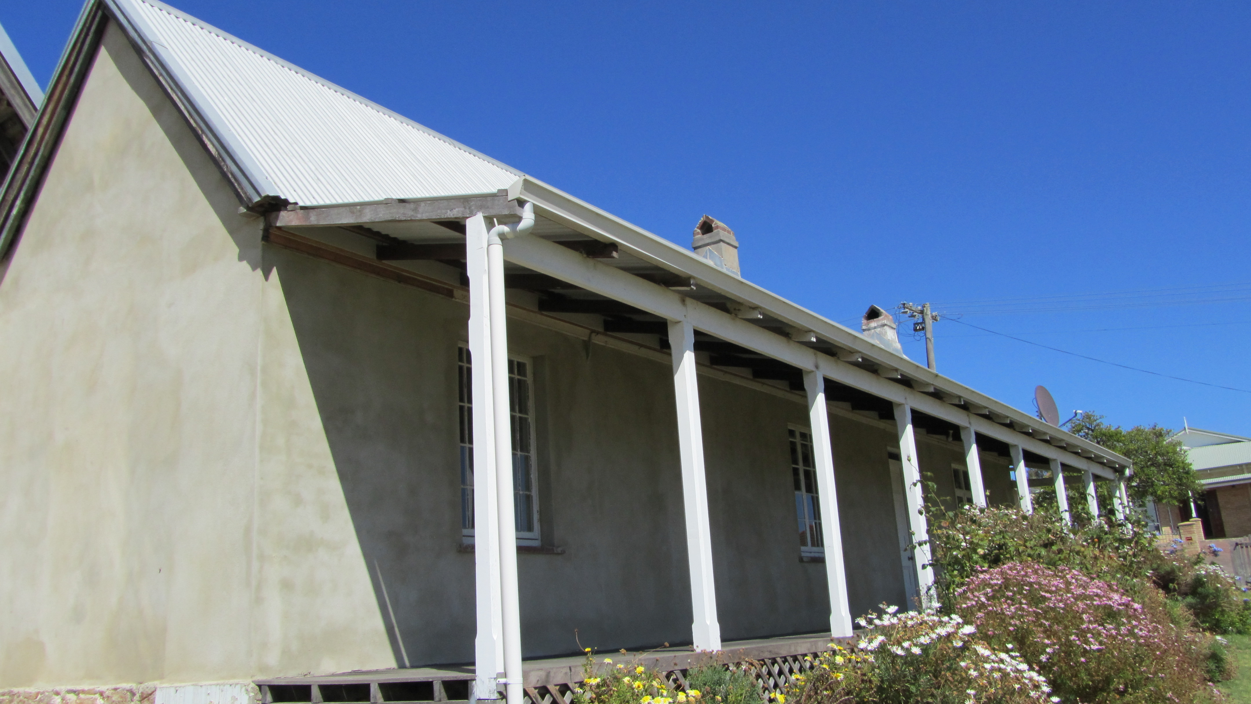 North east rear verandah