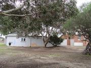 southern garage side elevation