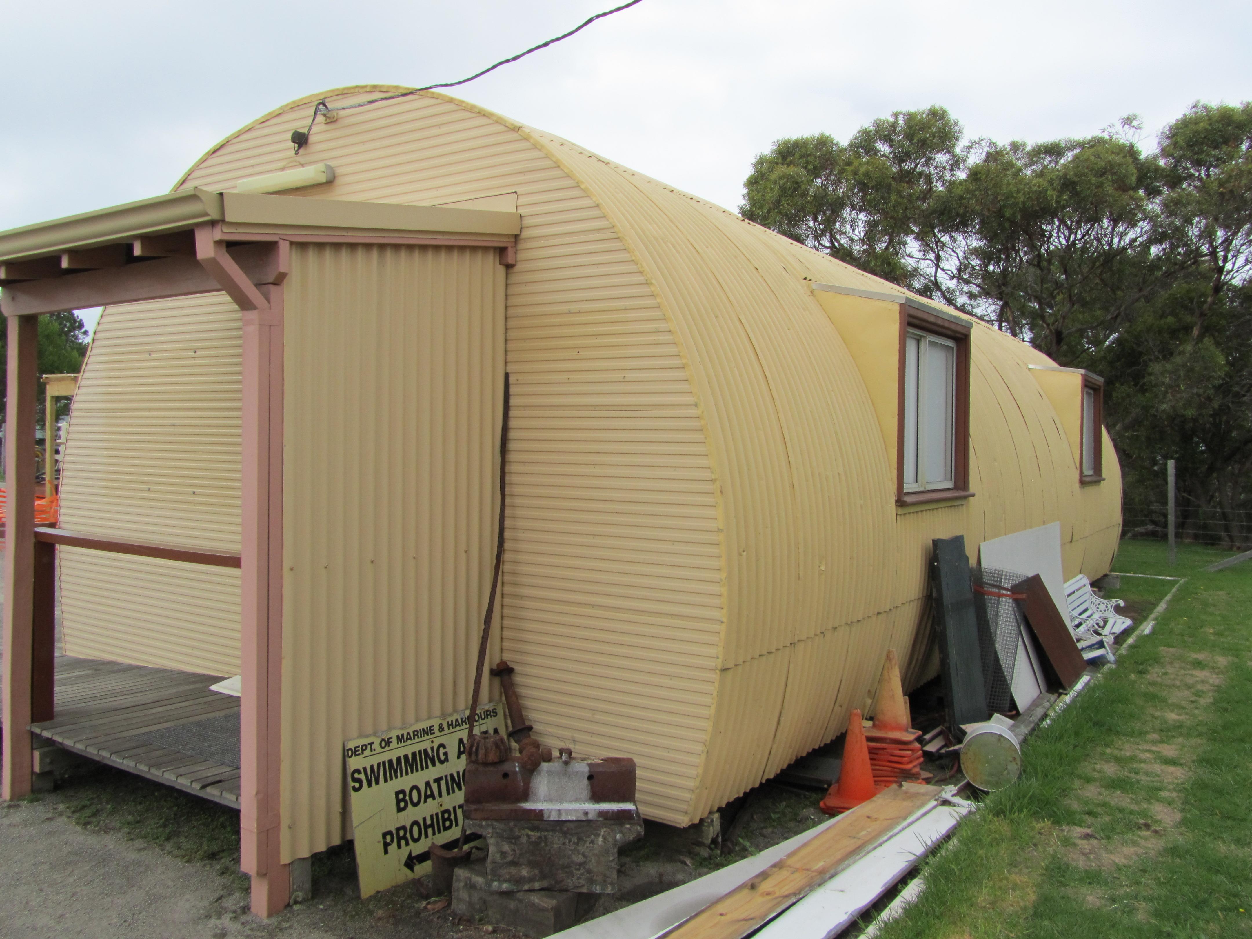 Nissan Hut 3_Artillery north west elevation