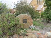 memorial garden detail