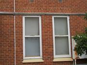 windows ground floor east elevation detail