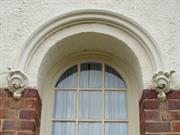 windows at south east corner detail