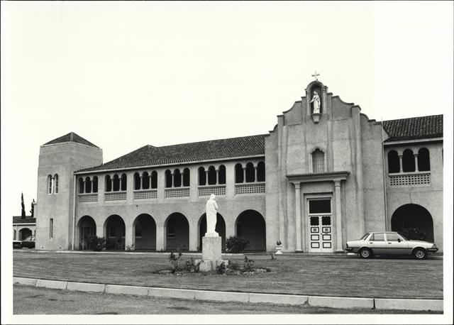 Front elevation of South portion of East frontage