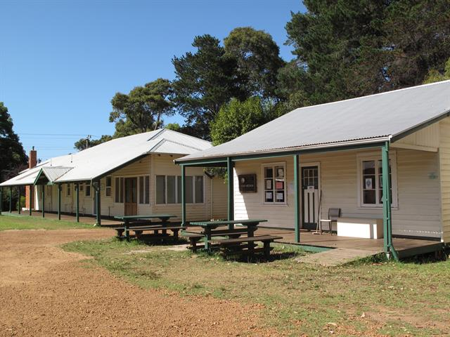 Nurses' quarters and Domestic staff area