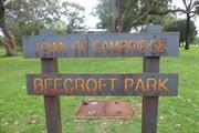 Beecroft Park  Signage