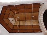 Ceiling above alter