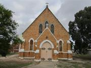 church front north elevation