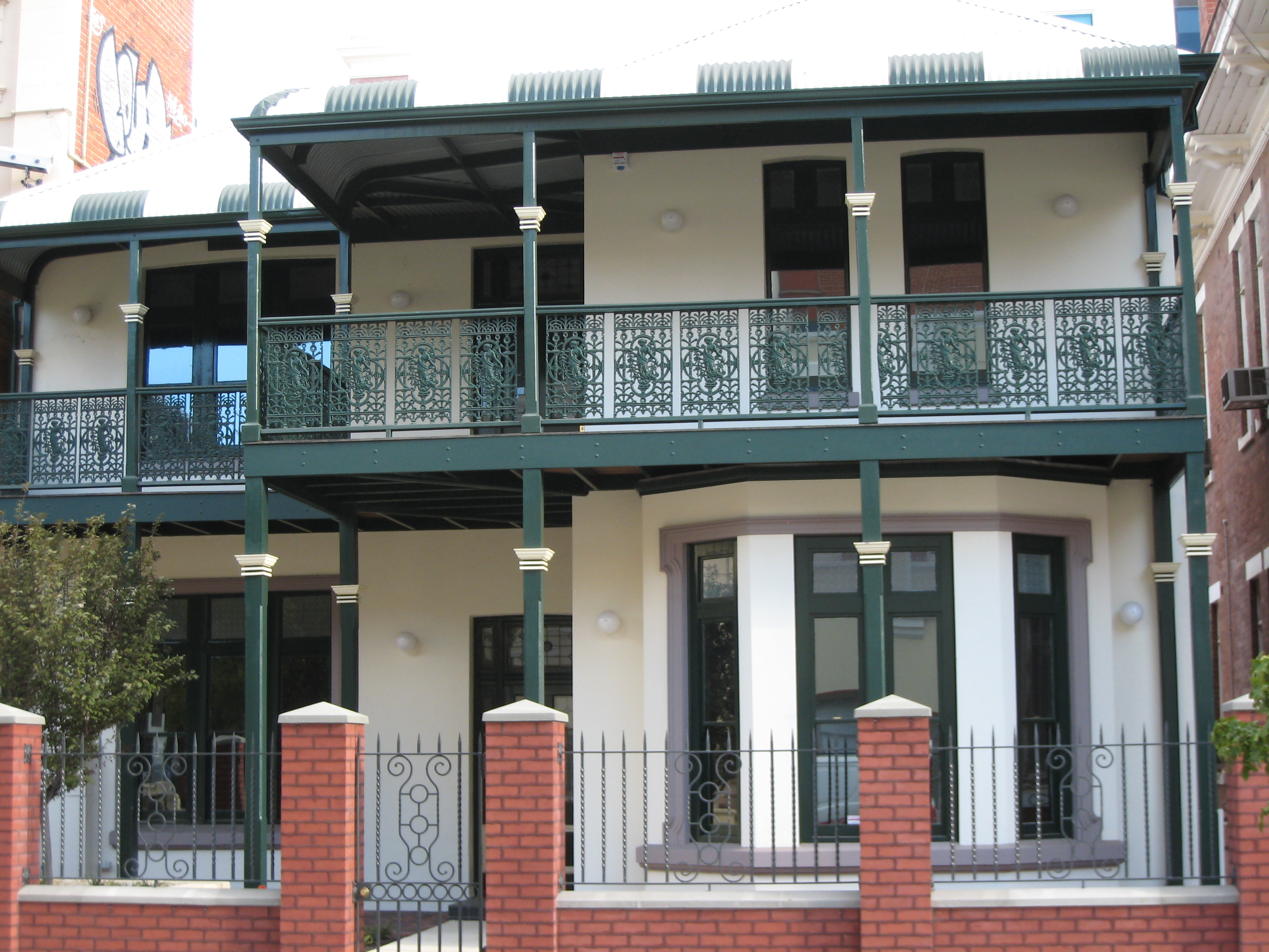 House adjacent to the Young Australia League Building