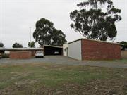 brick garages and sheds