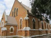 church north west elevation