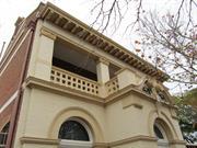 front upper storey balcony