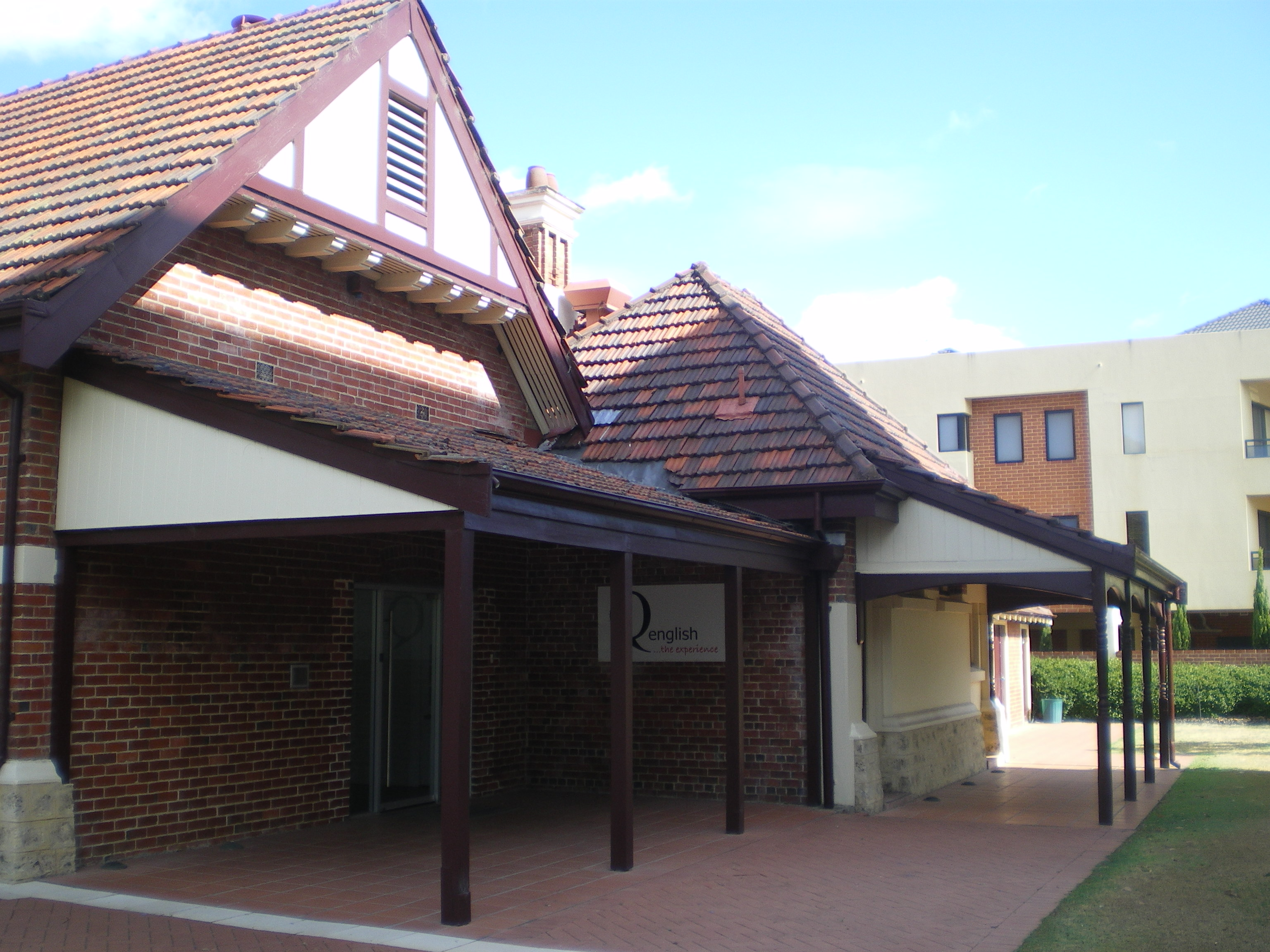 Corner View of Current Entrance