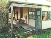 Hymus House - Prior to Restoration side