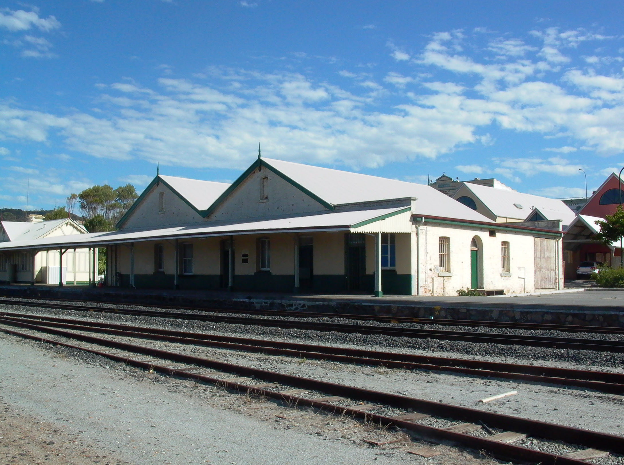 Railway store from South East