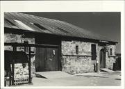 Front angled elevation of the Old Kerosene Store