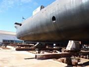 HMAS Ovens, Slipway
